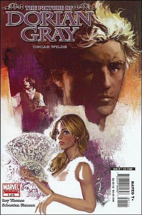 Picture Of Dorian Gray #1 Oscar Wilde Marvel Illustrated comic book SALE